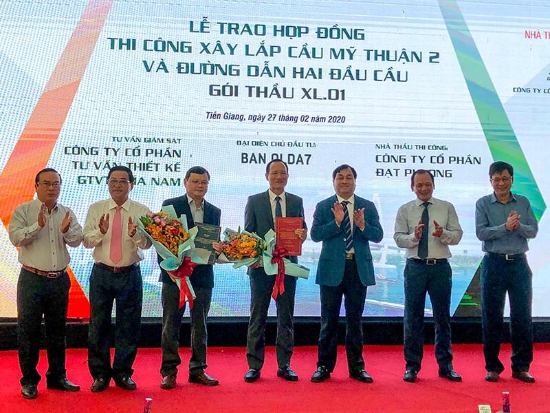 Bắt đầu làm cầu Mỹ Thuận 2 - ảnh 1
