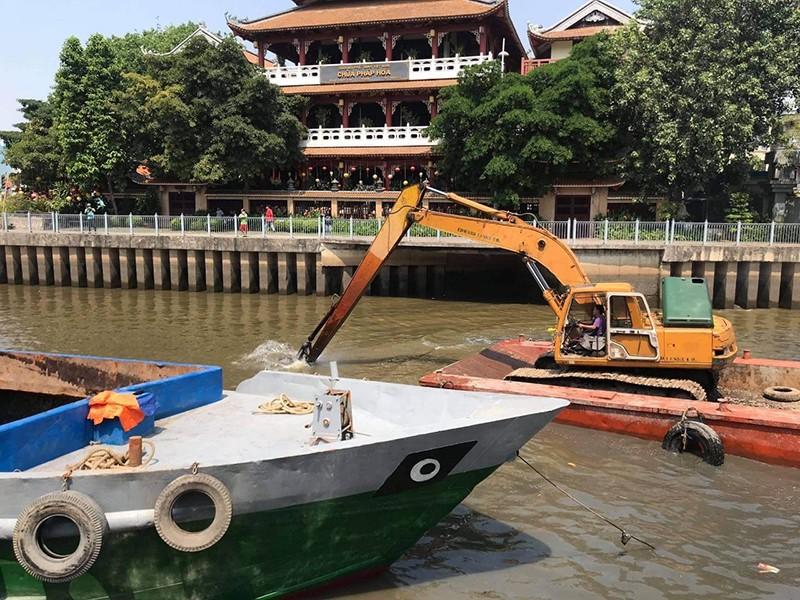 Chuẩn bị nạo vét kênh Nhiêu Lộc - Thị Nghè - ảnh 1