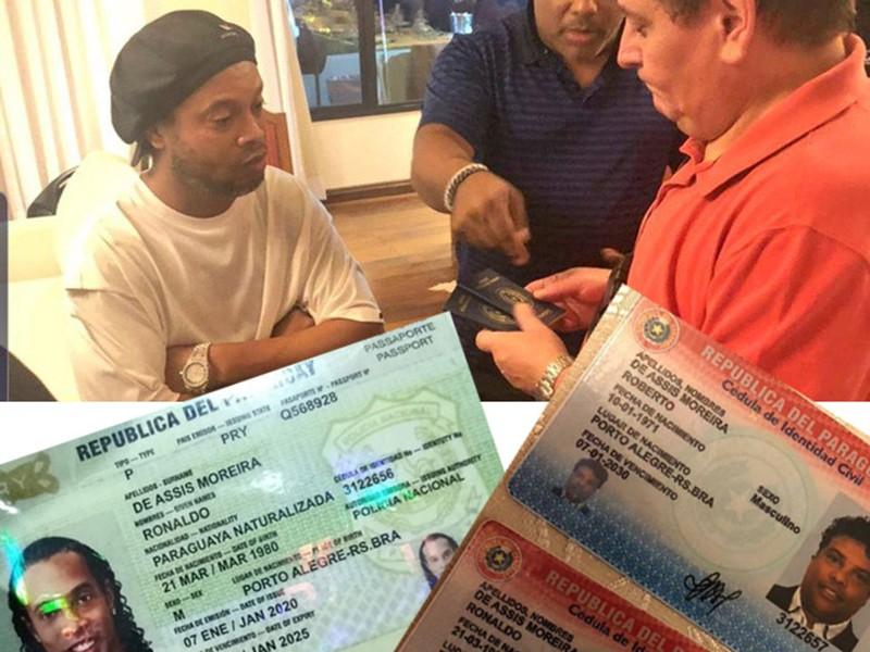 Vì sao Ronaldinho dùng hộ chiếu giả mang quốc tịch Paraguay? - ảnh 1