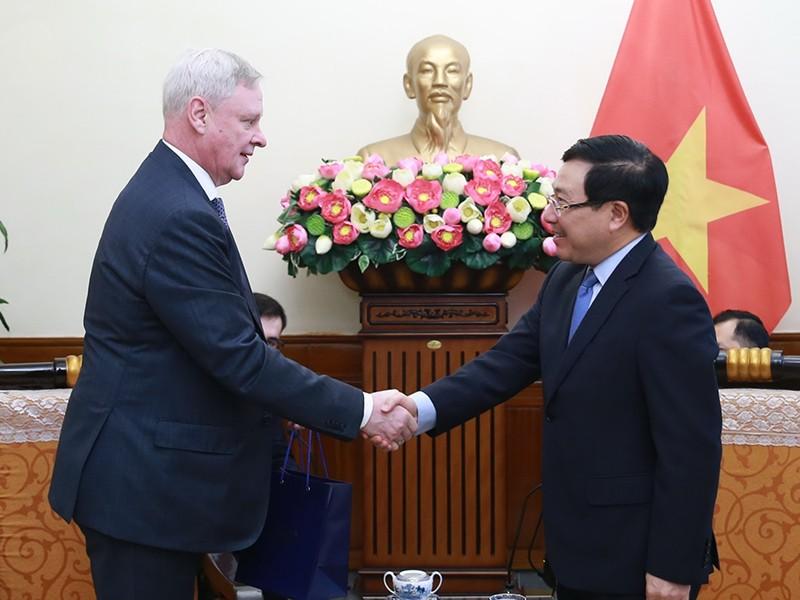 Quan hệ Việt-Nga thể hiện sự tin cậy chính trị cao - ảnh 1