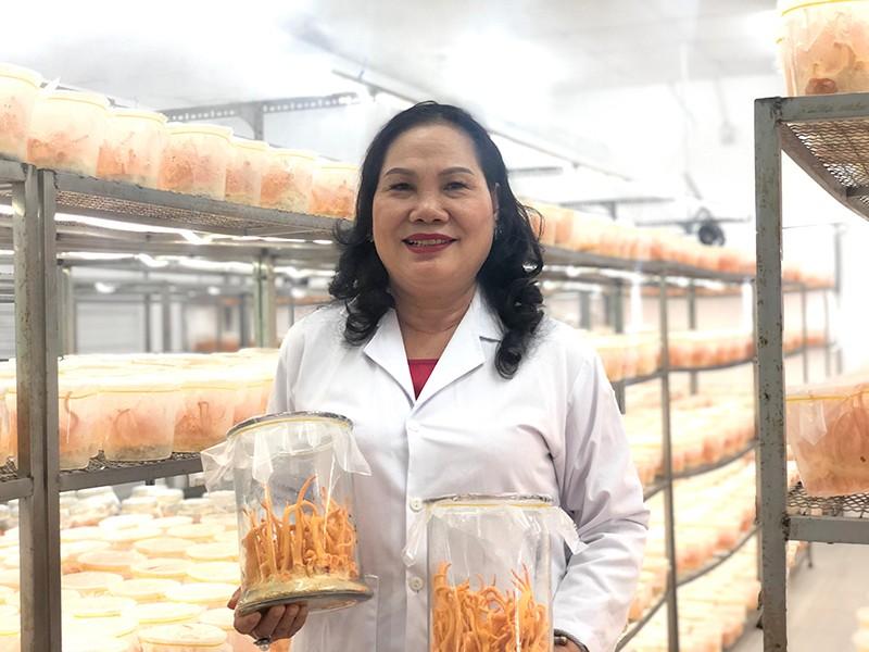 Nữ doanh nhân đưa đông trùng hạ thảo Việt ra thế giới - ảnh 1