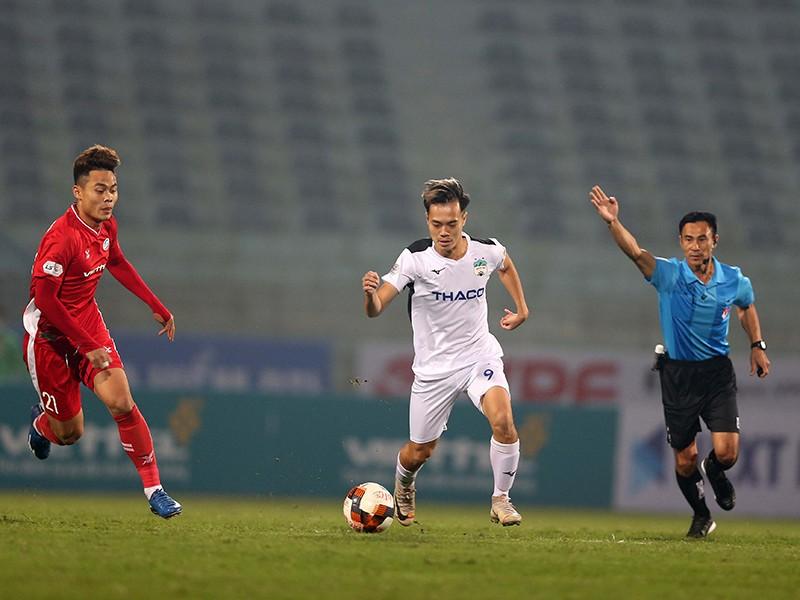 Bóng V-League lạc lõng lăn giữa mùa dịch - ảnh 2