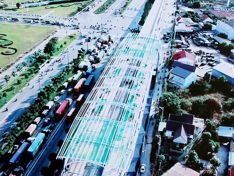 Tăng vốn dự án hạ tầng quanh tuyến metro 2 - ảnh 1