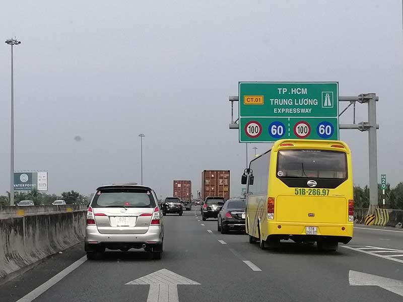 Tái thu phí cao tốc Trung Lương 1.000 đồng/km - ảnh 1