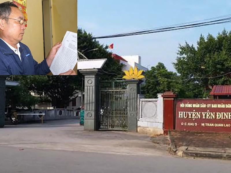 Bí thư Yên Định nói về vụ huyện nợ 52 tỉ - ảnh 1