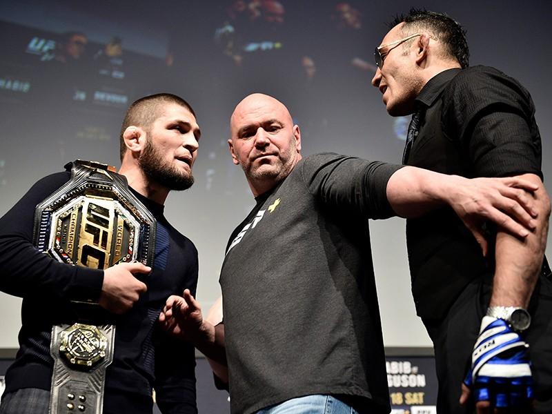 Xác định trận UFC Khabib (Nga) - Ferguson (Mỹ) - ảnh 1