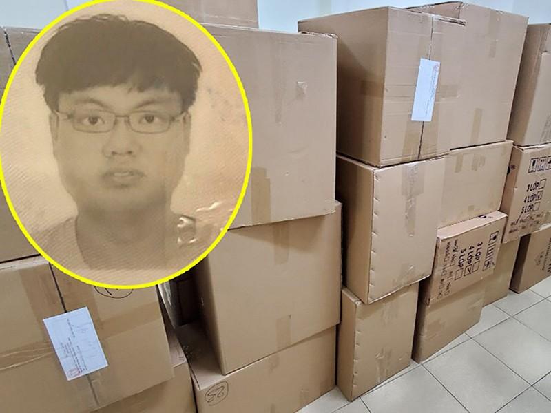 Người nước ngoài buôn lậu hàng ngàn hộp khẩu trang - ảnh 1