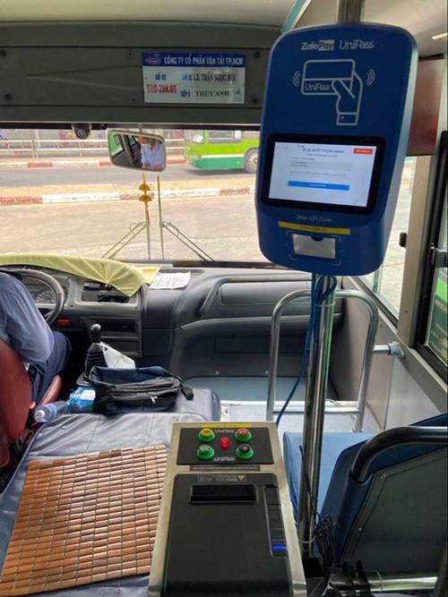 Nhiều ưu điểm khi thanh toán tự động trên xe buýt - ảnh 2