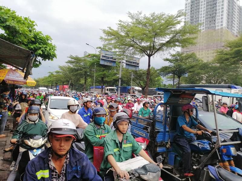 Sắp khởi công nút giao thông Nguyễn Văn Linh - Nguyễn Hữu Thọ - ảnh 1