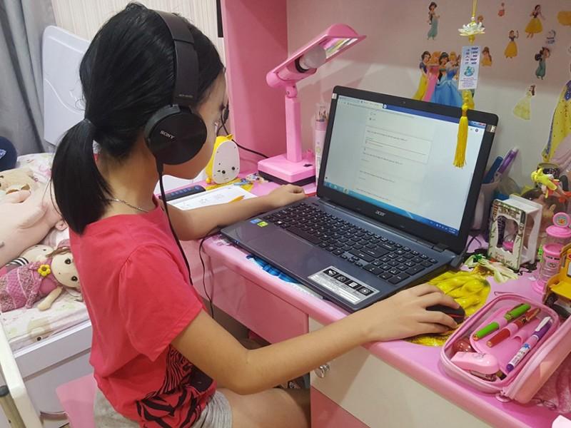 Học trực tuyến ở tiểu học: Mỗi trường mỗi kiểu - ảnh 1
