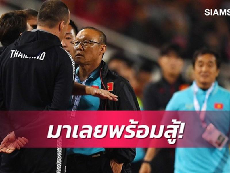 Ông Park không bị 'treo' ở AFF Cup, báo Thái cay cú - ảnh 1