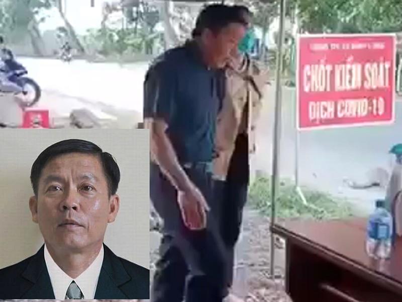 Tạm đình chỉ phó chủ tịch HĐND phản ứng kiểm dịch - ảnh 1