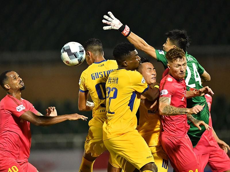V-League trở lại, không đá tập trung - ảnh 1