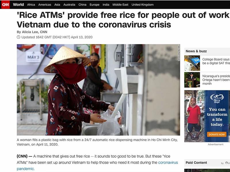 ATM gạo: Những lan tỏa thiết thực - ảnh 3