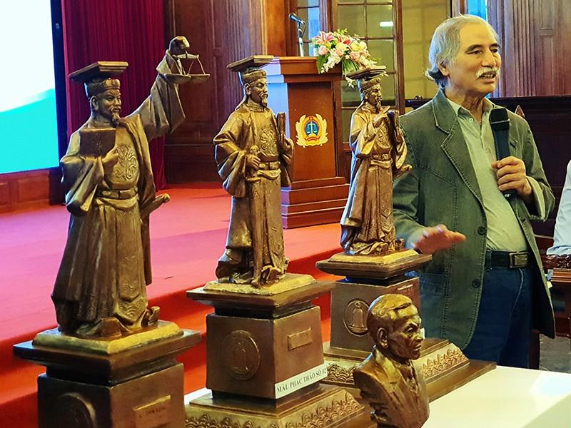 Tòa Tối cao chưa dựng tượng vua Lý Thái Tông - ảnh 1