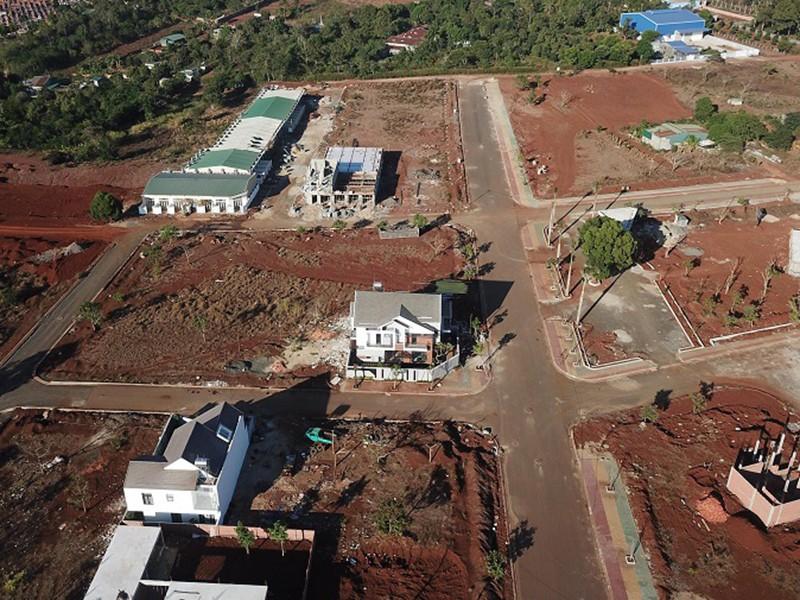 Buộc dừng thi công dự án nhà ở thương mại trên đất nông nghiệp - ảnh 1