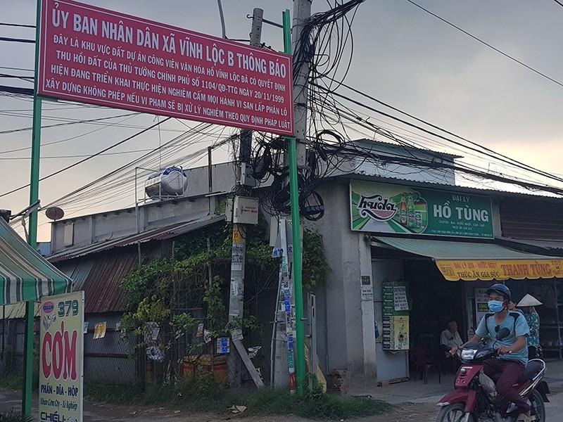 Công khai kết luận thanh tra dự án sinh thái hồ Vĩnh Lộc - ảnh 1