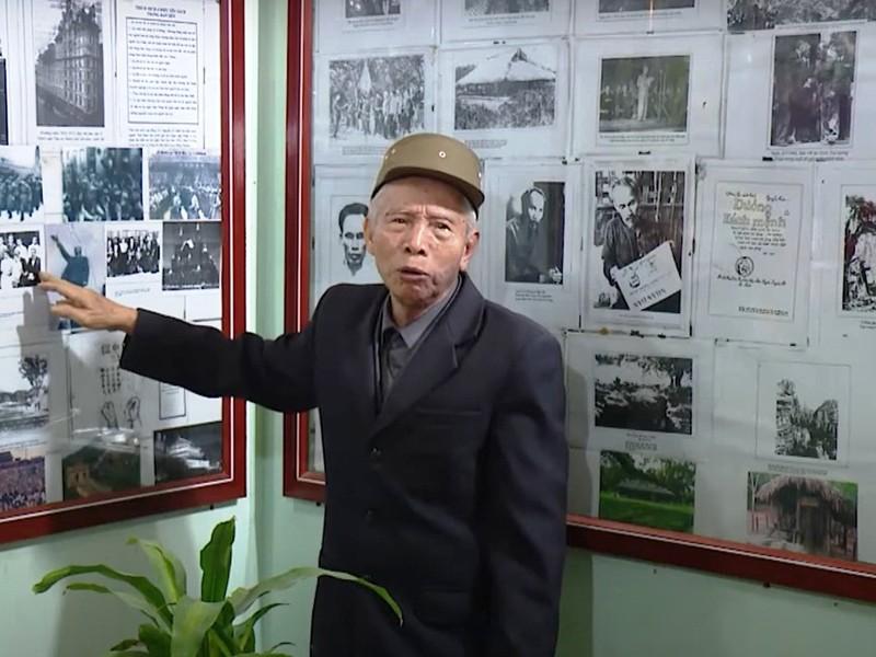 Nhà lưu niệm Bác Hồ ở gia đình lão nông 84 tuổi - ảnh 1