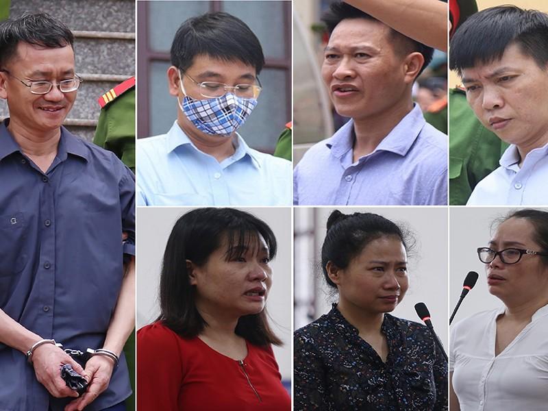 Gian lận điểm ở Hòa Bình: Chủ mưu bị đề nghị 7-8 năm tù - ảnh 1
