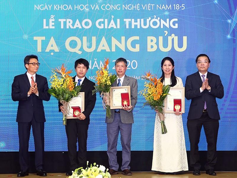 Ngày Khoa học Công nghệ Việt Nam: Vinh danh các nhà khoa học - ảnh 1