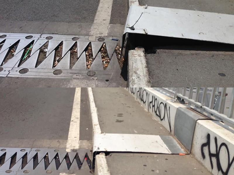 Đã sửa chữa tấm thép hỏng trên cầu Sài Gòn - ảnh 1