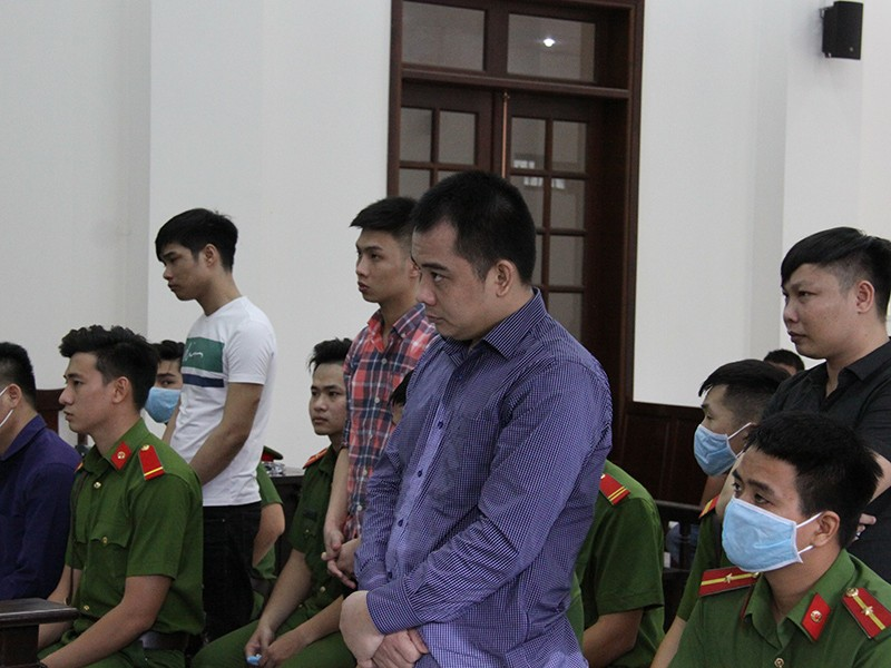 Nhóm Giang '36' vây xe công an lãnh án - ảnh 1