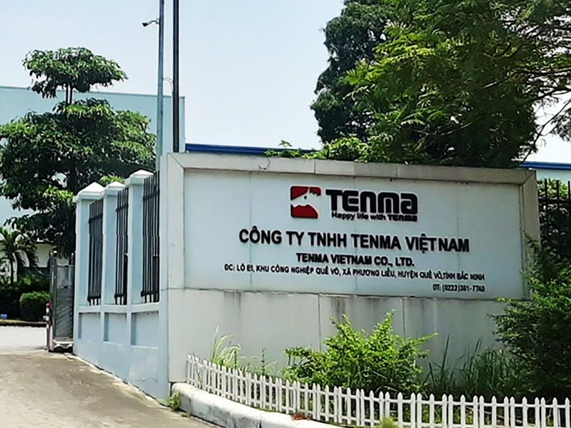 Bắc Ninh thông tin vụ nghi đưa hối lộ ở Công ty Tenma - ảnh 1
