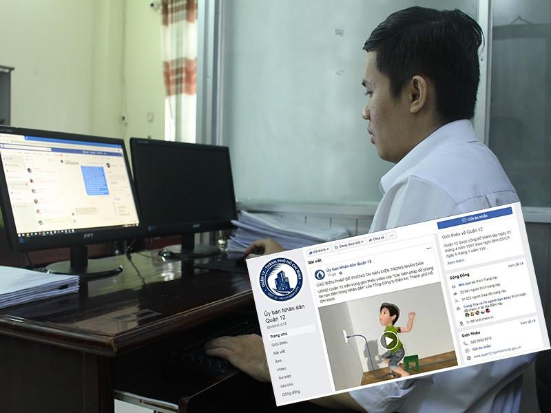 Quận 12: Dân hào hứng với trang Facebook 'khủng' - ảnh 1