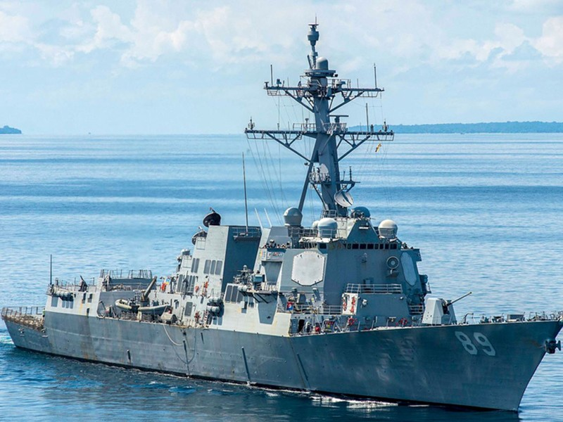 Tàu Mỹ áp sát Hoàng Sa, thách thức Trung Quốc - ảnh 1