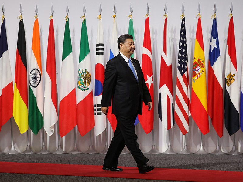 Các nước có xu hướng lập nhóm không Trung Quốc - ảnh 1