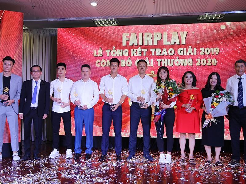 Toàn cảnh lễ trao giải Fair Play 2019, công bố Fair Play 2020 - ảnh 1
