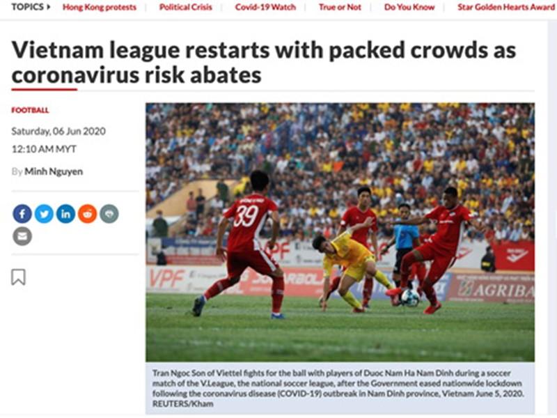 Trong đại dịch, V-League trở nên nổi tiếng - ảnh 2