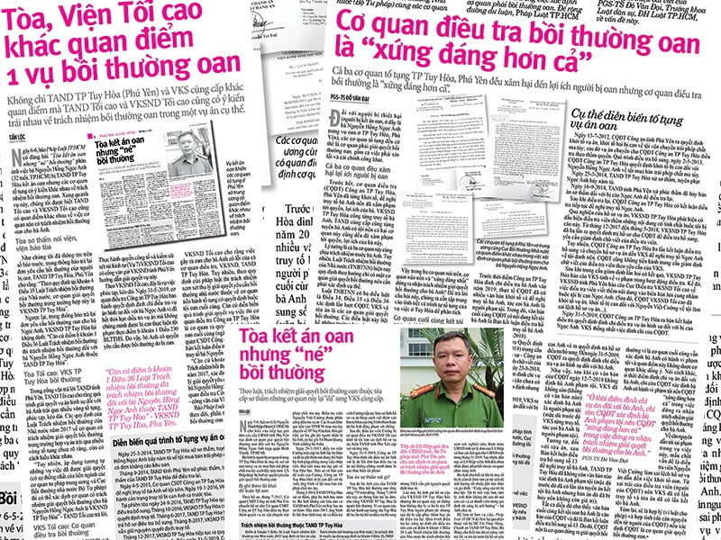 Viện kiểm sát TP Tuy Hòa có trách nhiệm bồi thường oan - ảnh 1