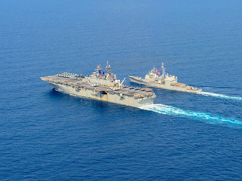 Thủy thủ Mỹ vạch trần tham vọng Biển Đông của Trung Quốc - ảnh 1