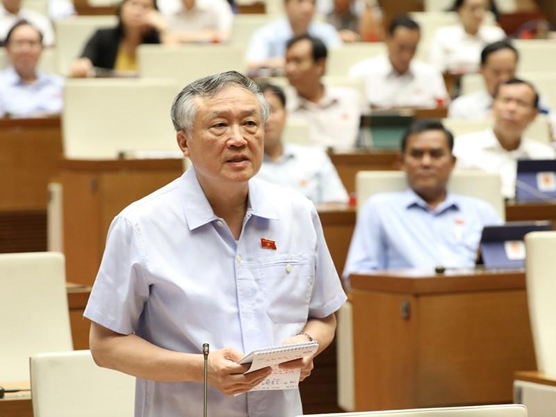 Chánh án Nguyễn Hòa Bình nói về vụ Hồ Duy Hải trước Quốc hội - ảnh 1