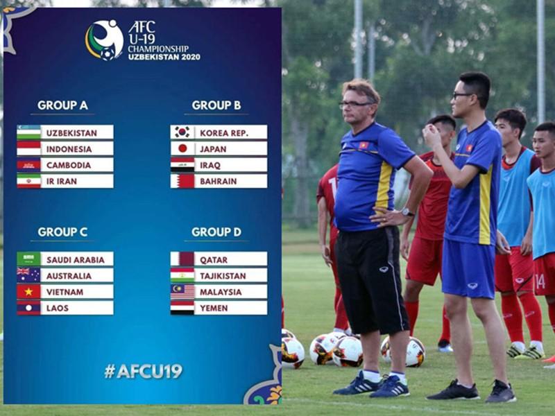 U-19 Việt Nam cùng bảng với nhà vô địch Saudi Arabia - ảnh 1