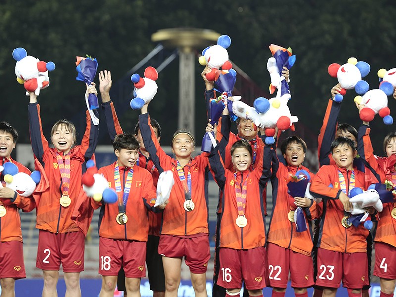 Đội nữ Việt Nam tìm đường đến Úc và New Zealand 2023 - ảnh 1