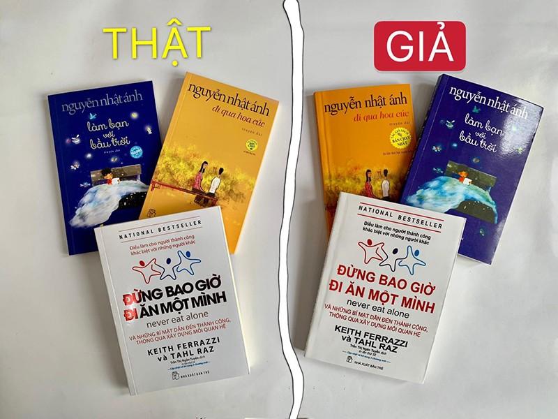Đừng ham '3 tặng 1' mà mua nhầm sách giả  - ảnh 1