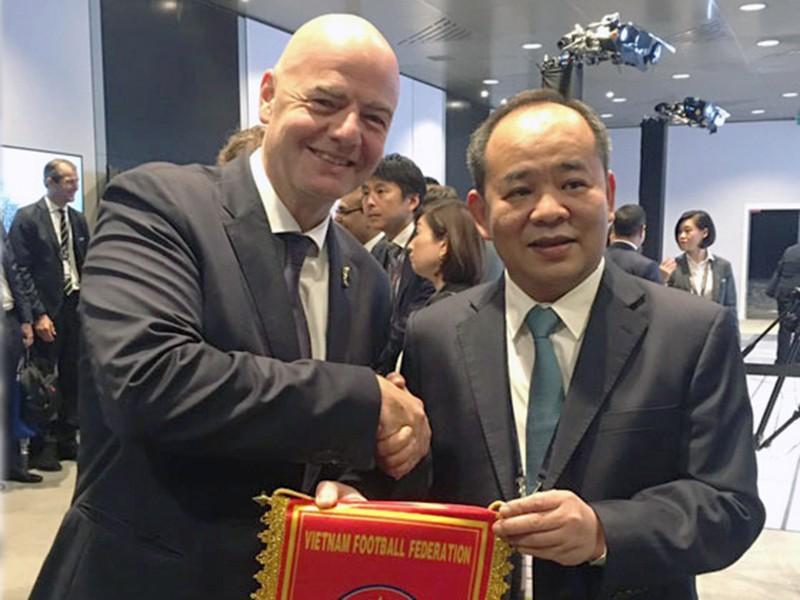 Bóng đá Việt Nam sẽ nhận 35 tỉ hỗ trợ từ FIFA - ảnh 1