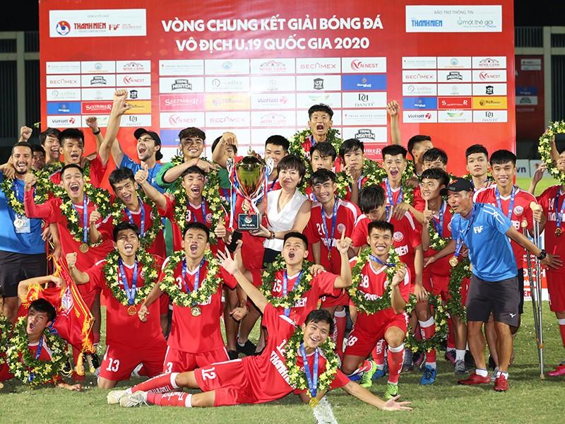Đánh bại HA Gia Lai, U-19 PVF lần thứ hai lên ngôi - ảnh 1