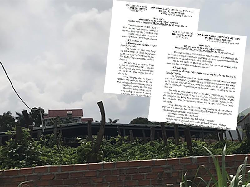 Một nguyên bí thư huyện được cấp đất trái luật - ảnh 1