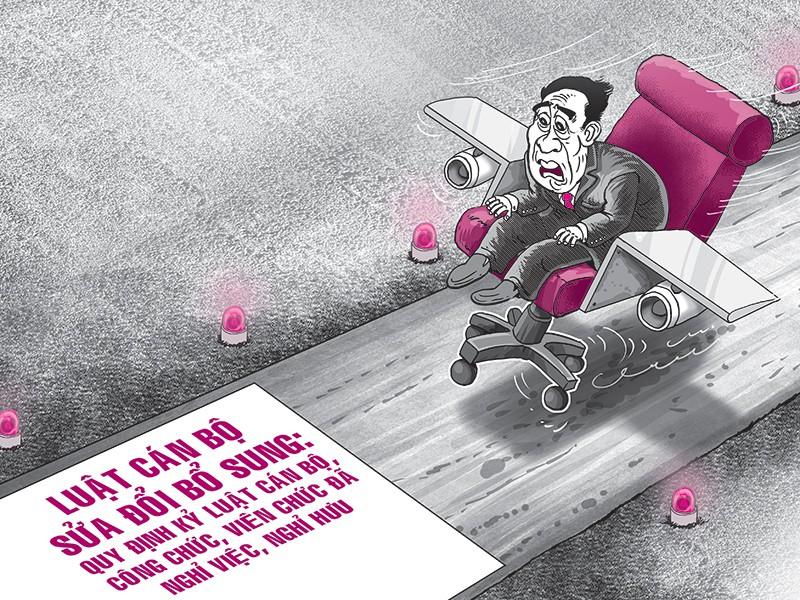 Xử lý cán bộ về hưu: Hết 'hạ cánh an toàn' - ảnh 2