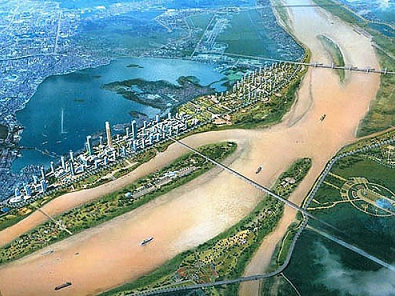 Quy hoạch 2 bờ sông Hồng thành các khu đô thị sinh thái - ảnh 1