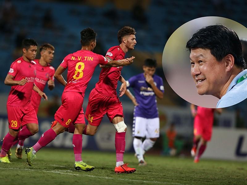 Bản sao của ông Park trong ban huấn luyện Sài Gòn - ảnh 1
