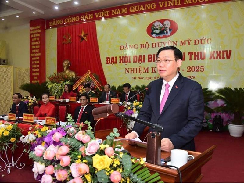 Bí thư Hà Nội: Đưa Đồng Tâm thành xã nông thôn mới - ảnh 1