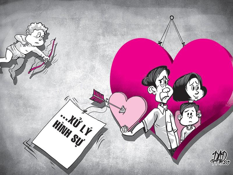 Lãnh án tù vì đã có vợ vẫn… cặp bồ - ảnh 1