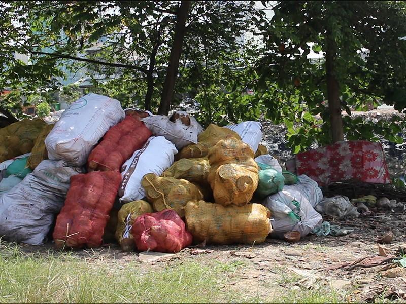 Bãi rác thành công viên nhờ công sức của dân - ảnh 2