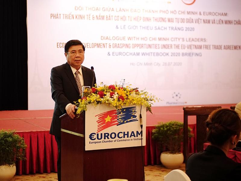 TP.HCM cam kết gỡ các rào cản, hỗ trợ doanh nghiệp - ảnh 1