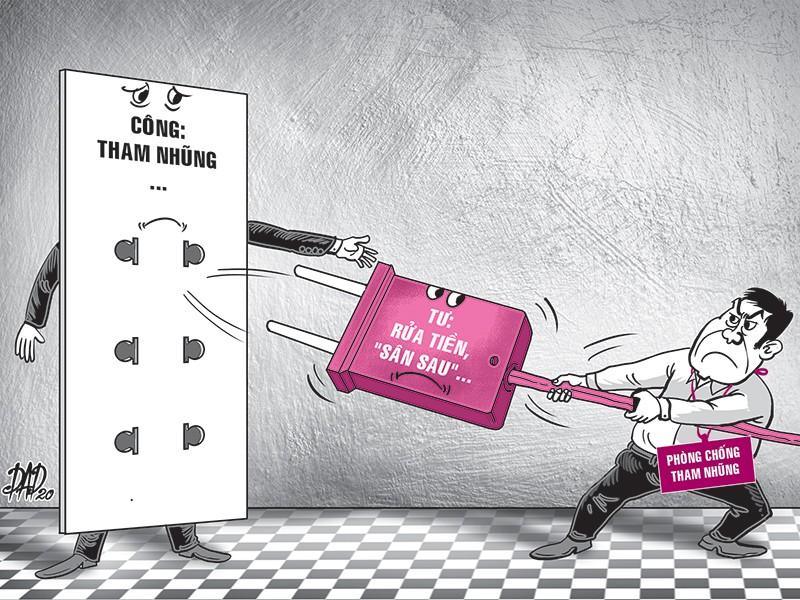 Chống tham nhũng: Ngăn chặn 'vòi thông nhau' công - tư - ảnh 1
