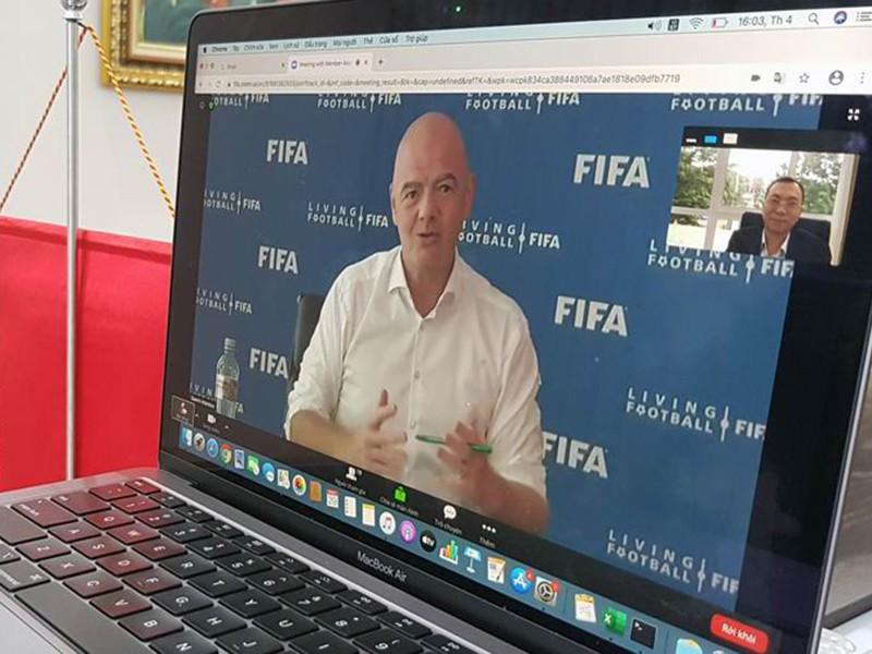 Chủ tịch FIFA bị điều tra, VFF có ảnh hưởng? - ảnh 2
